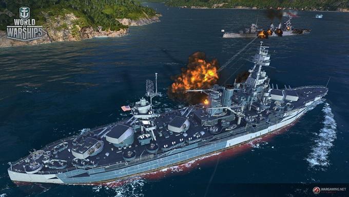 รีวิวเกมส์ World of Warships ยุทธการเรือรบเหนือน่านน้ำ